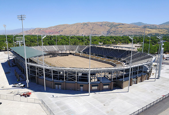 GT Grandstands New Stadium for Days of '47 Rodeo