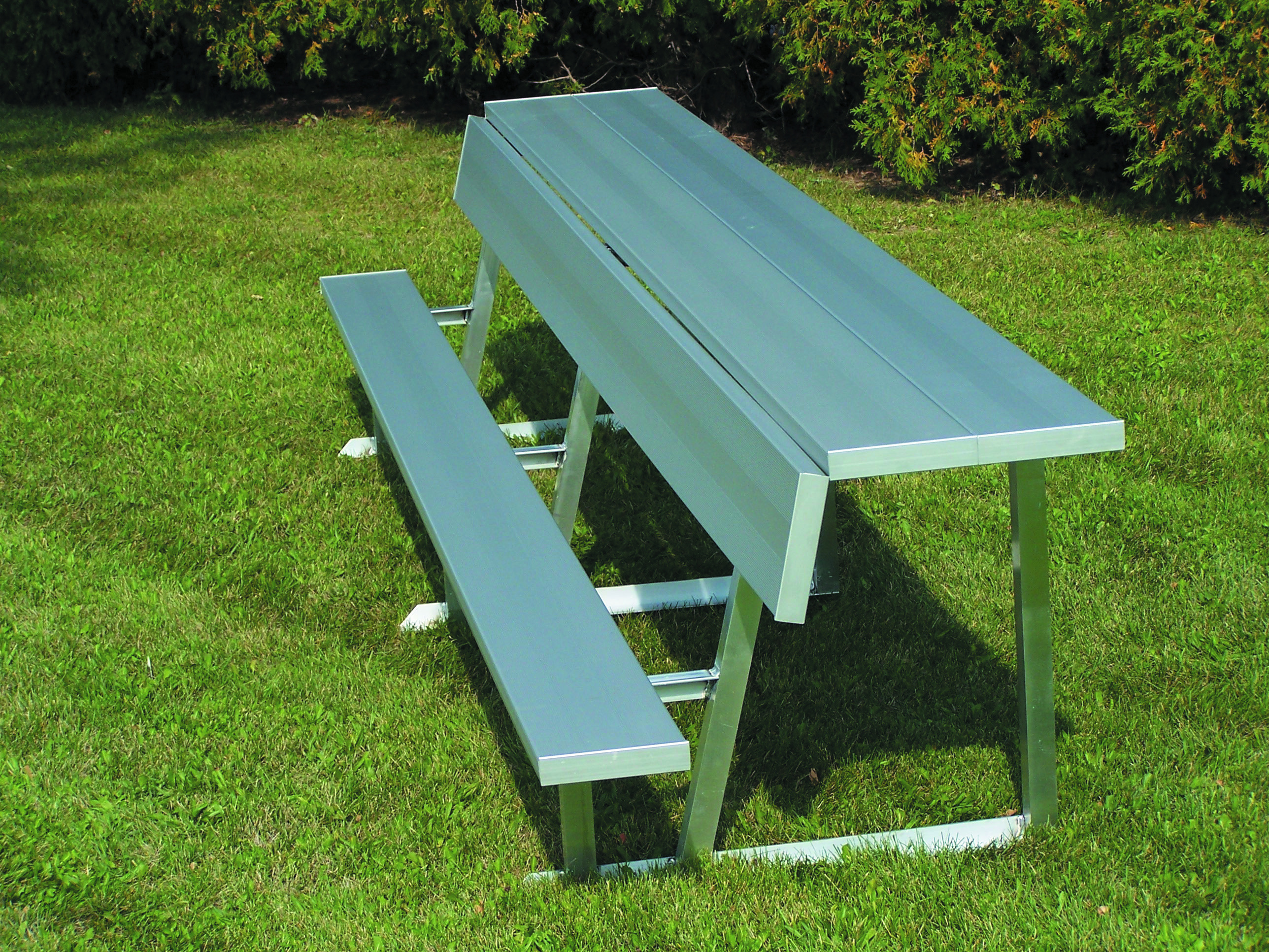Benches available in multiple lengths, Image may portray different length that described