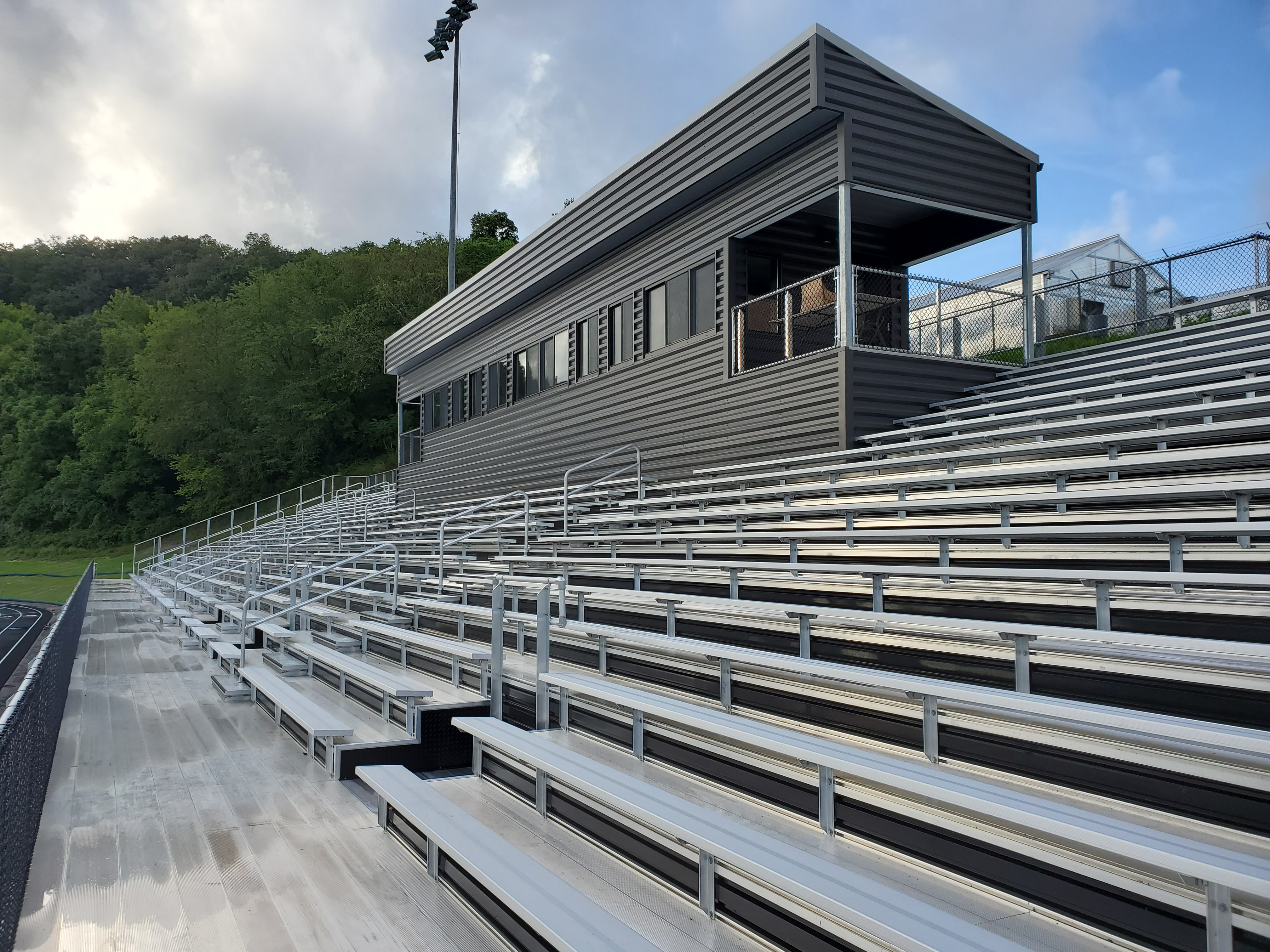 Custom Bleachers for Tyler Consolidated High School