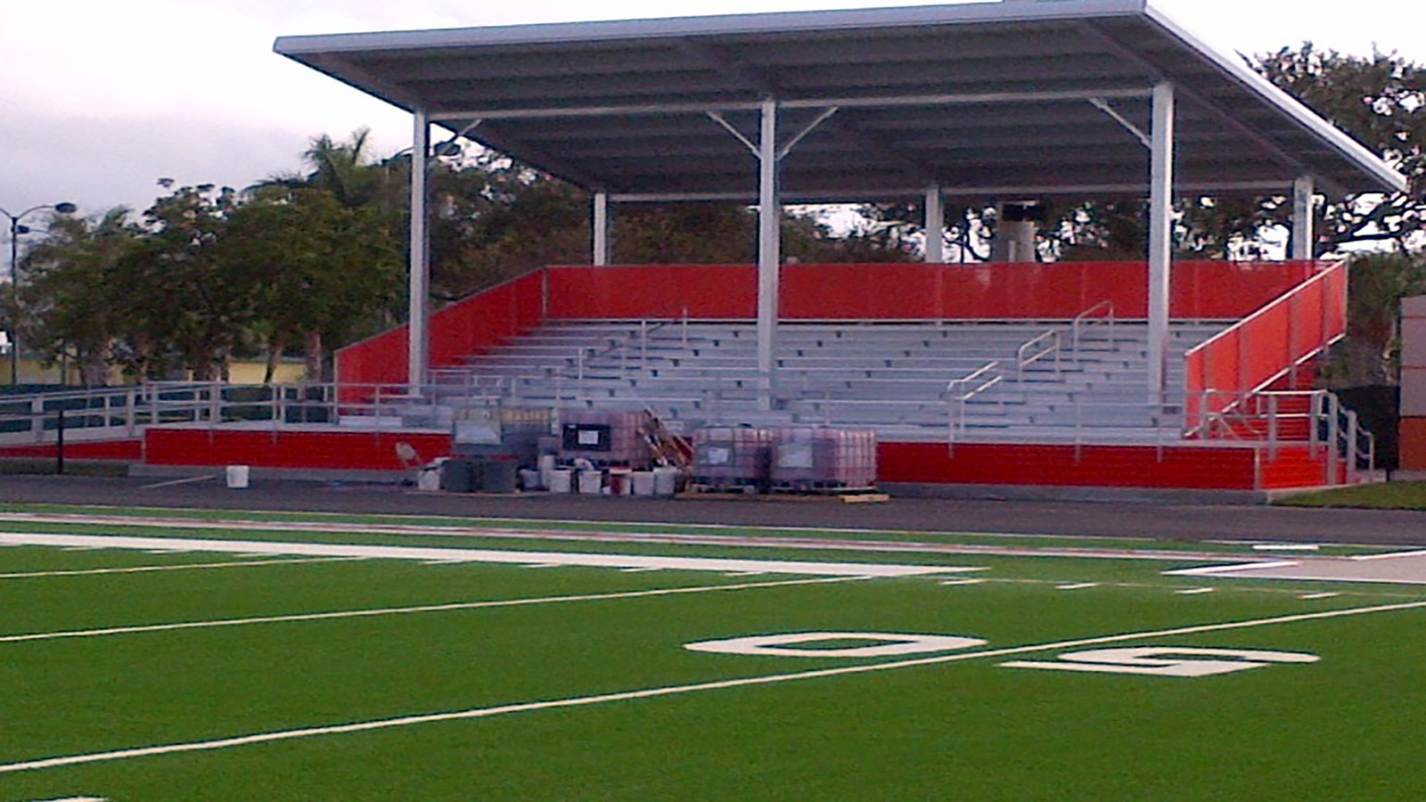 Carter Park Football Stadium with Shade Structure