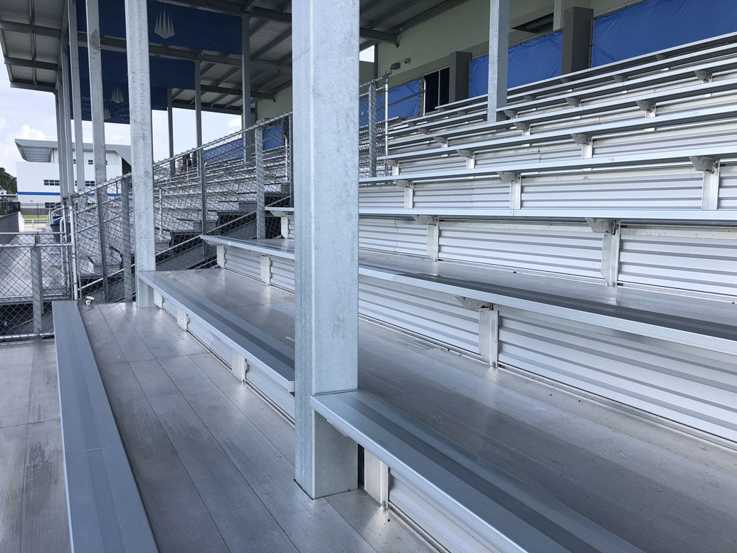 bleachers, grandstands