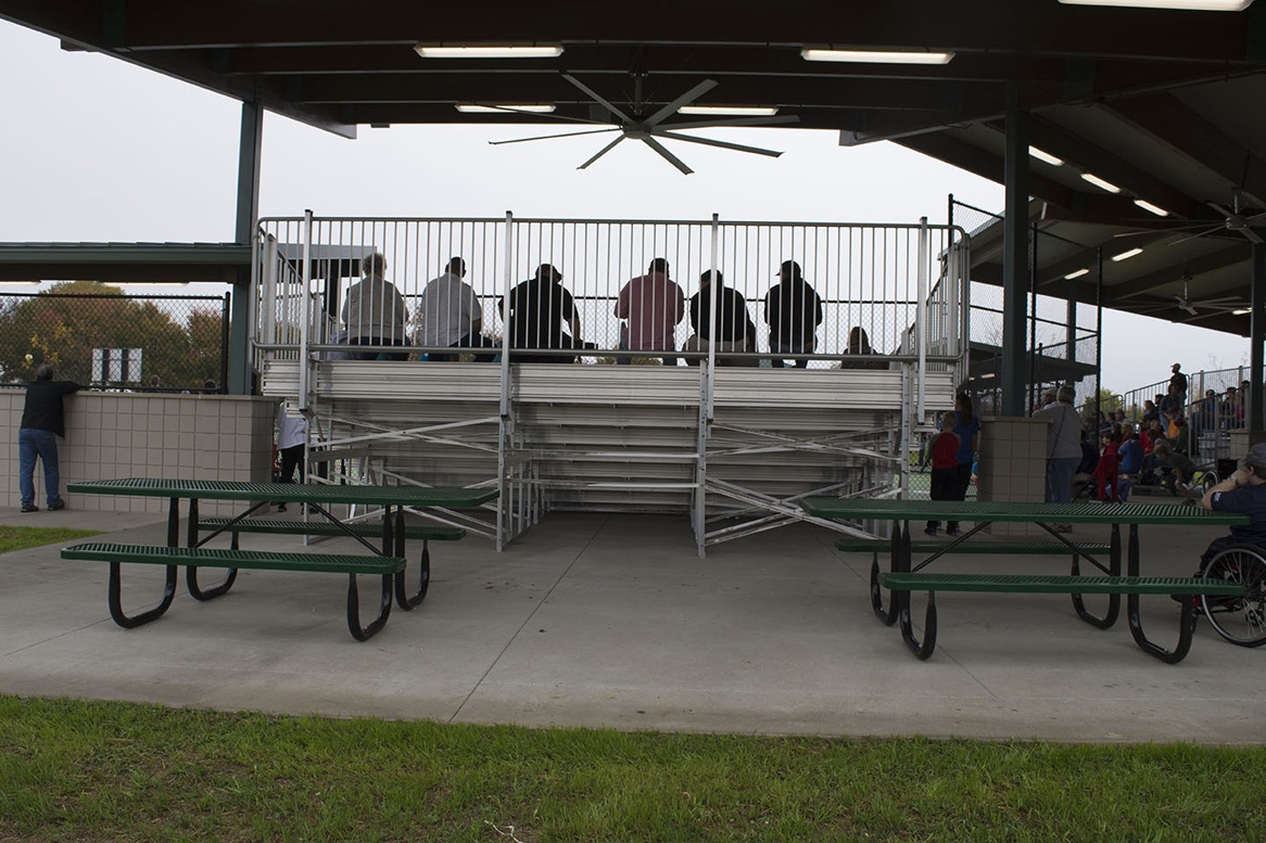 Code Compliant Bleachers