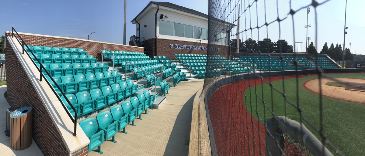 softball fan seating