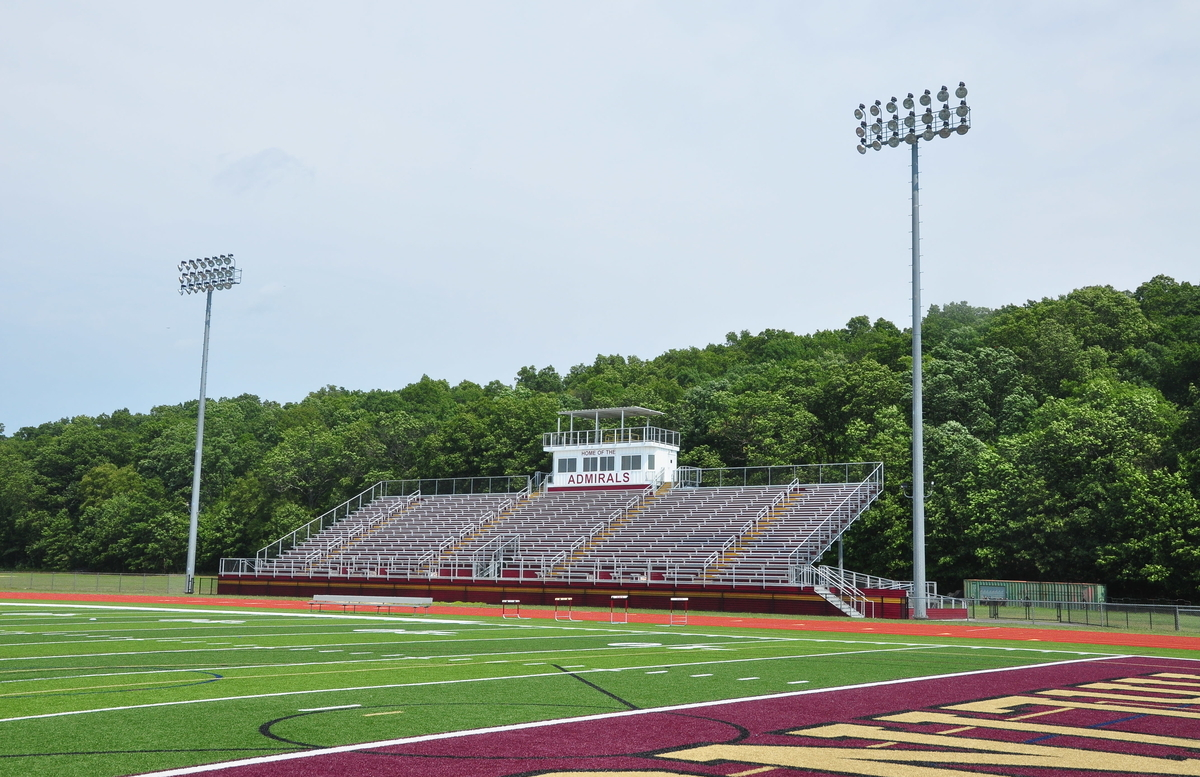 Aluminum Bleachers for Arlington High School