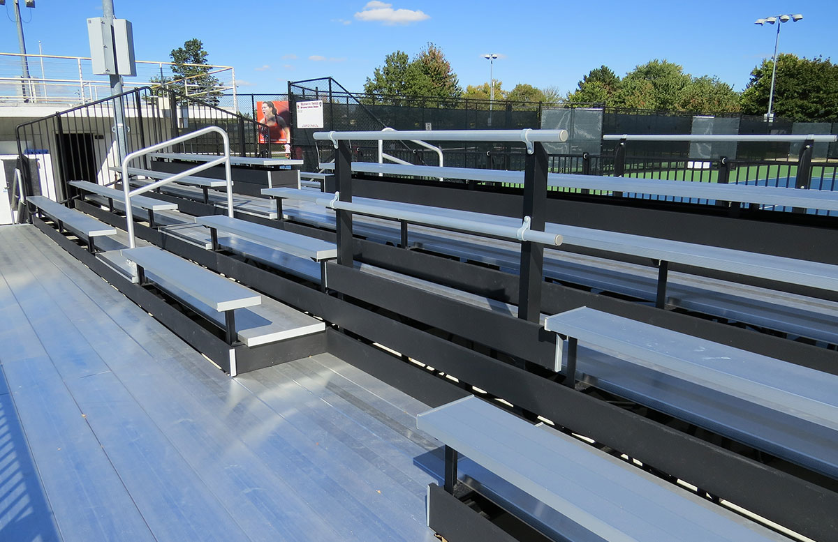Ball State Tennis Grandstand