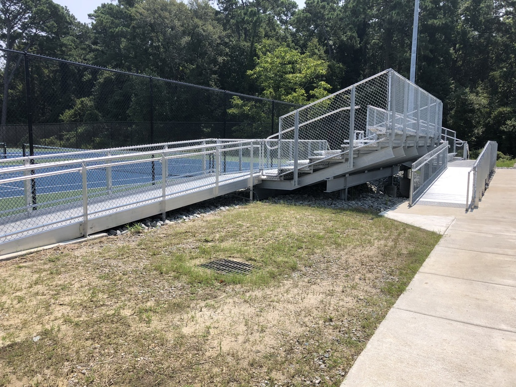 accessible bleacher seating