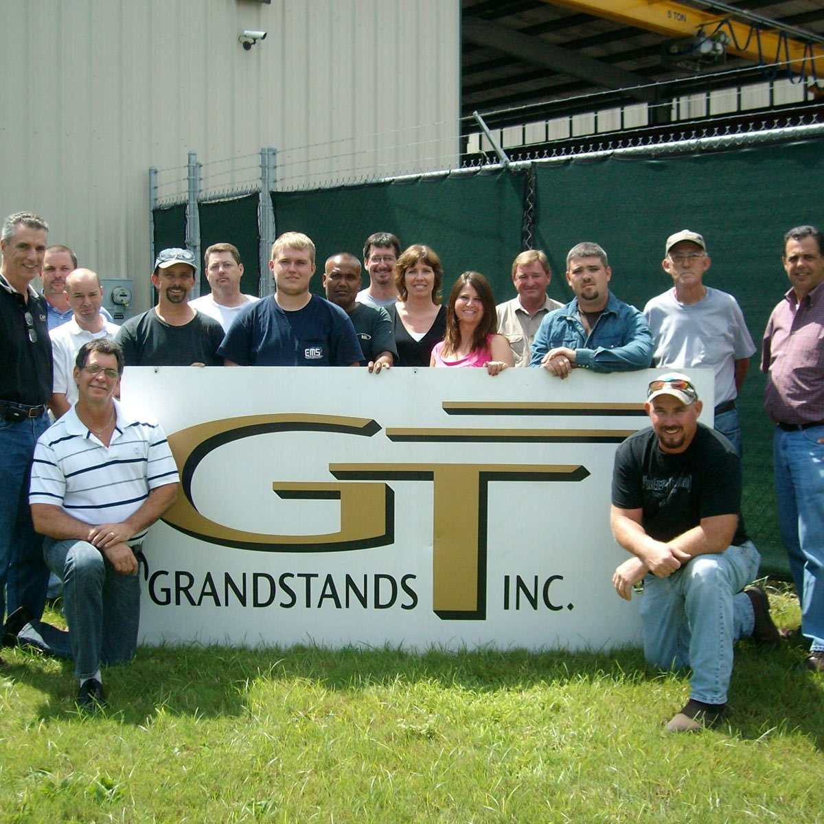 The GT grandstand team